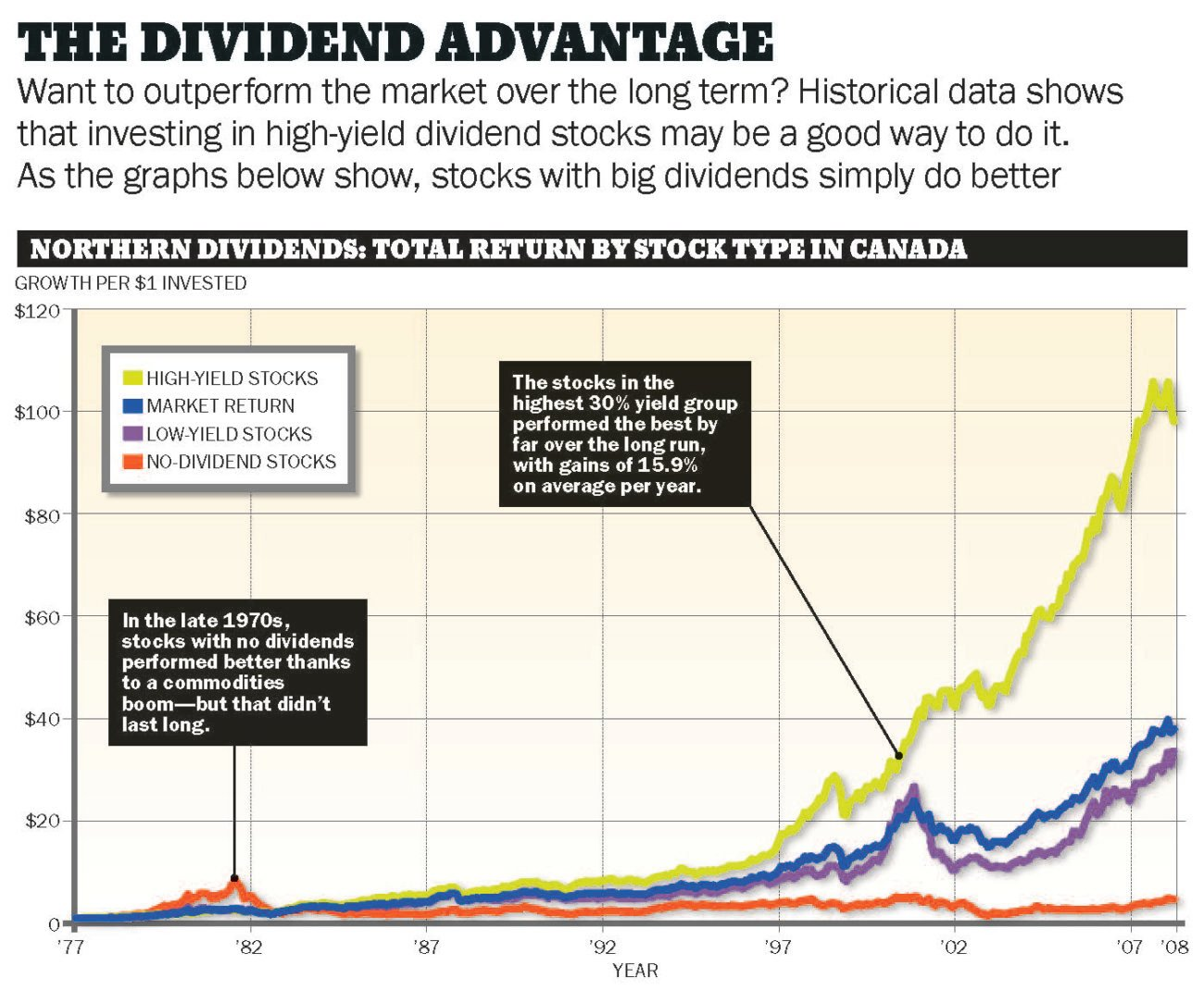 Stock options pay dividends