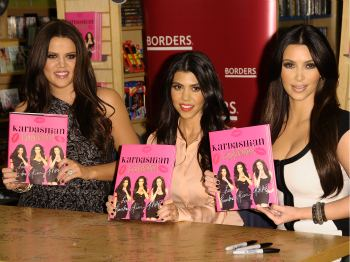 (L-R) Khloe, Kourtney and Kim Kardashian; PHOTO: Frazer Harrison, Getty