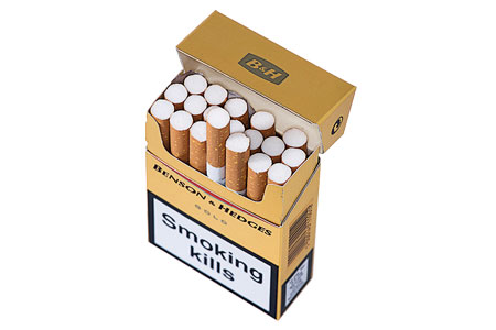 Benson & Hedges cigarettes (one carton)