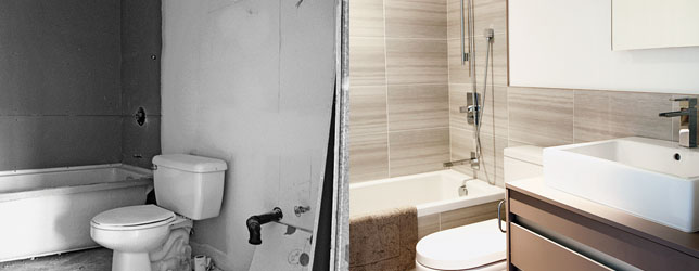 Home Renovation Reality Check MoneySense Beauteous Small Bathroom Remodels Pictures Property
