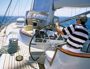 man sailing phuket thailand