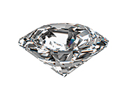 Single Diamond with Clipping Path