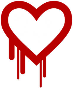 "This illustration to represent the ""heartbleed bug"" has been circulating around the Internet in recent days."