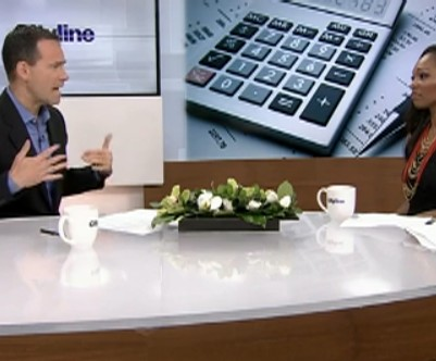 Bruce Sellery talks about child costs on CityLine.