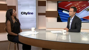 Bruce Sellery talks credit cards on Cityline on Aug. 27, 2014.