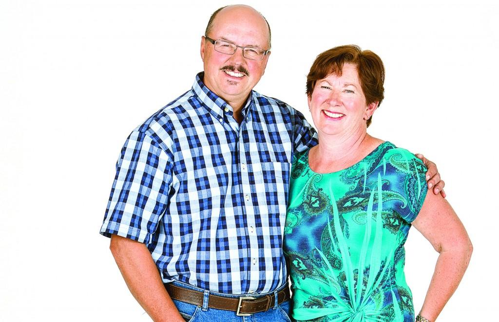 Edward and Penelope Arneson of Cochrane, Alta. (Photo by CHRIS BOLIN)