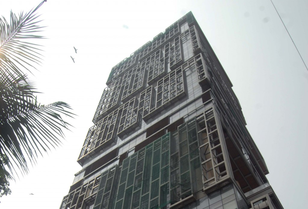 Mukesh Ambani's new home (Mail Today / Getty Images)