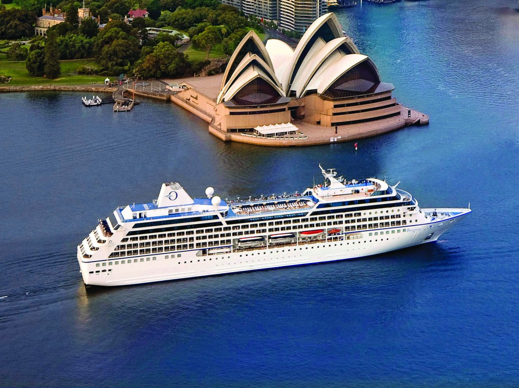 Oceania Cruises World cruise around the globe