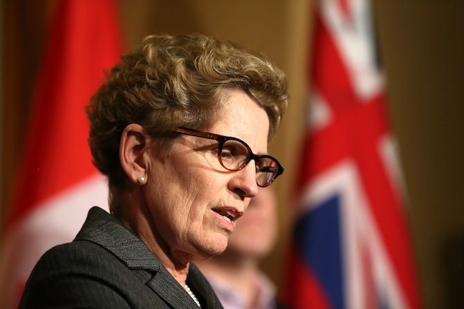 Ontario Premier Kathleen Wynn (The Canadian Press)