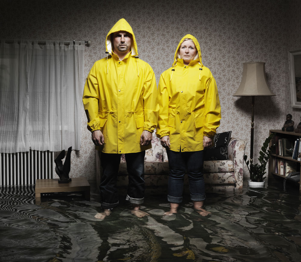 Keep in mind how much damage flooding and water will do when choosing the right flooring for your home. (Getty Images/Henrik Sorensen)