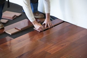 Engineered wood floor (Getty Images/slobo)