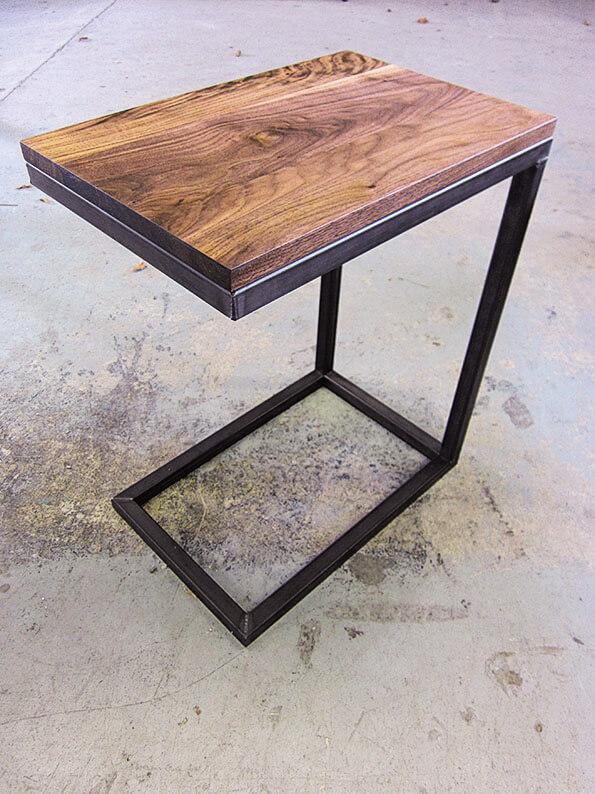 2 custom bishop side tables (stylegarage.com) $816