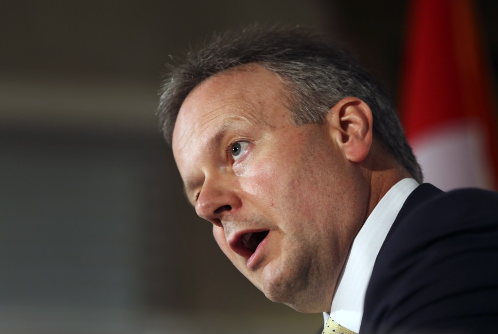 Bank of Canada Stephen Poloz (Getty Images/Andrew Francis Wallace)