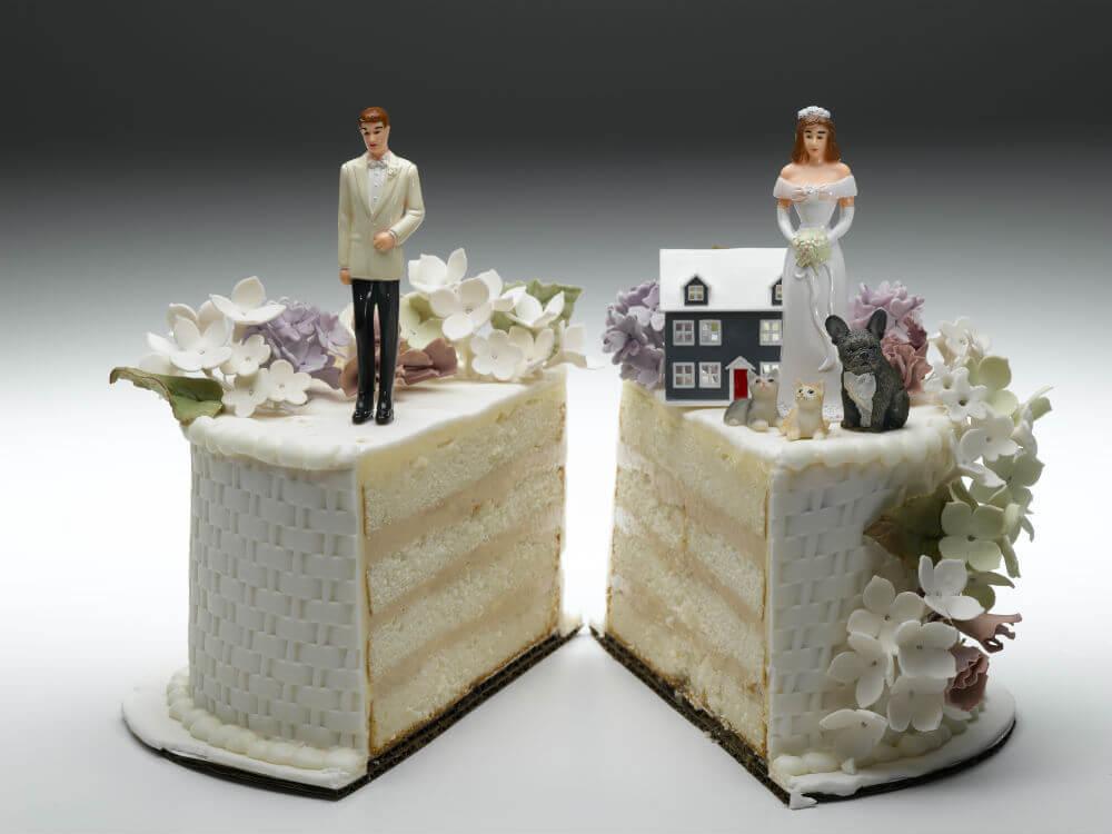 Divorce means splitting up the marital assets (Getty Images / Jeffrey Hamilton)