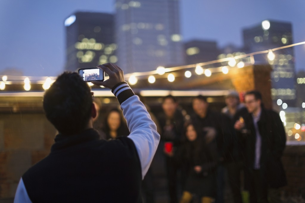 Rooftop party in downtown Edmonton (Getty Images/Hero Images)