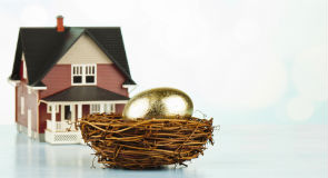 Retirement planning requires a plan for accessing home equity whether the property is a real estate investment or not  (Getty Images /  Catherine Lane)
