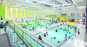 A modern community centre offers the chance to splash around in No. 5-ranked Cornell, Markham