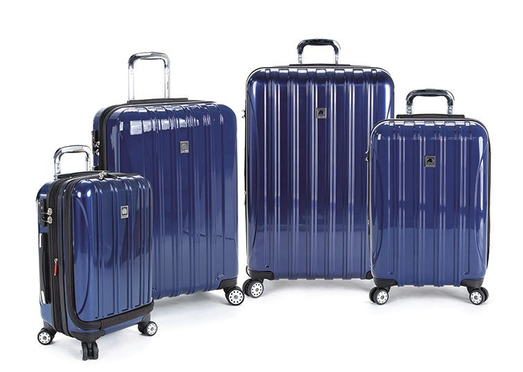 Delsey was chosen by MoneySense as the best luggage for durability.