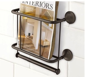 Pottery Barn magazine rack