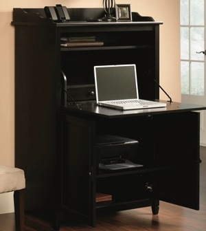 Sauder desk - open