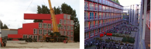 Tempohousing Amsterdam University container housing project (www.atira.bc.ca)