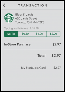 mobile tipping