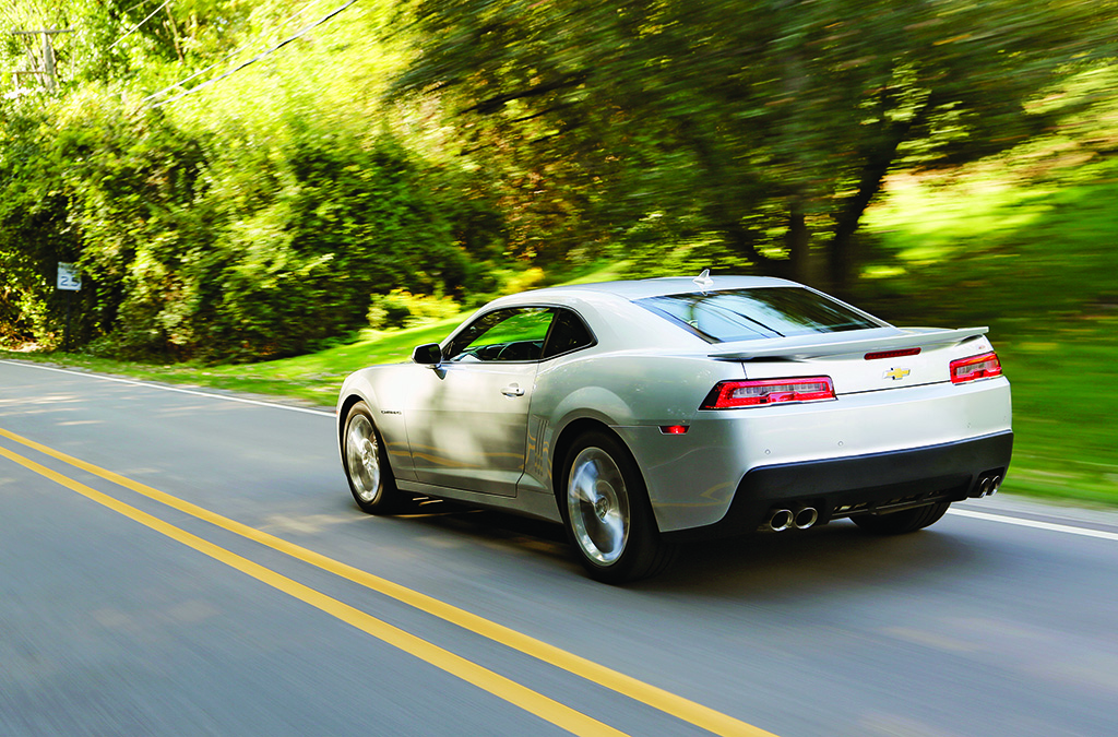 (The 2015 Camaro combines high revving fun and good value.)