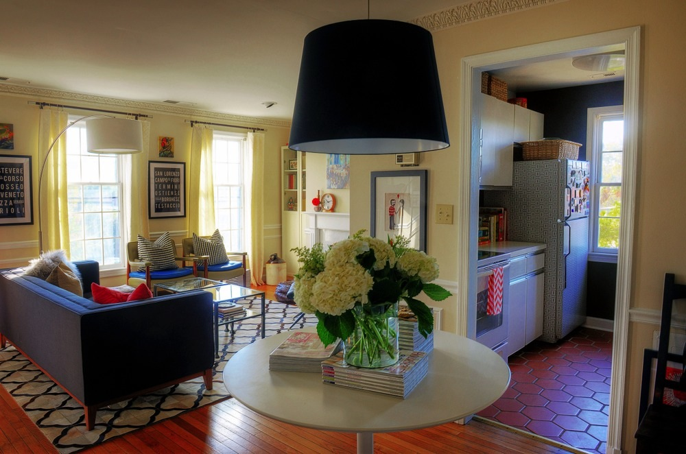 Small condo living requires space saving furniture (Getty Images / The Washington Post)
