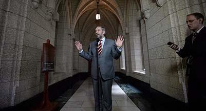 NDP leader Thomas Mulcair (Sean Kilpatrick/CP)