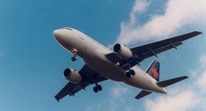 TORONTO, ON: Air Canada airplane. Photo taken by Boris Spremo April 6, 1997 at Pearson International Airport. (Boris Spremo/Getty Images)