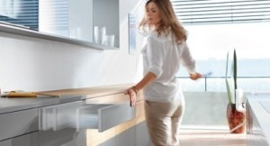 Touchless drawers