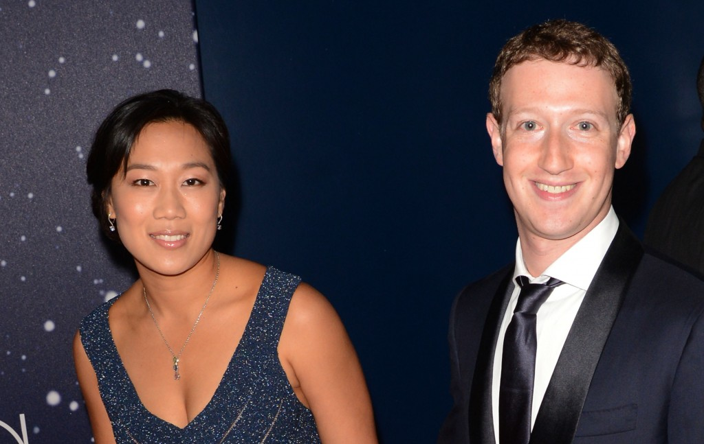 (Priscilla Chan and Mark Zuckerberg | Photo by C Flanigan/FilmMagic/Getty Images)