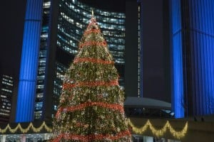 Christmas in Toronto (Getty / Zoran Milich)