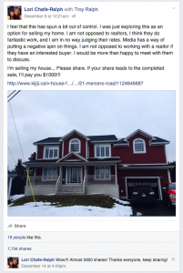 Would you sell your home on Facebook?