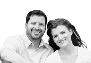 Jessica and Christopher Pitt, 28 and 38, Calgary, Alta.