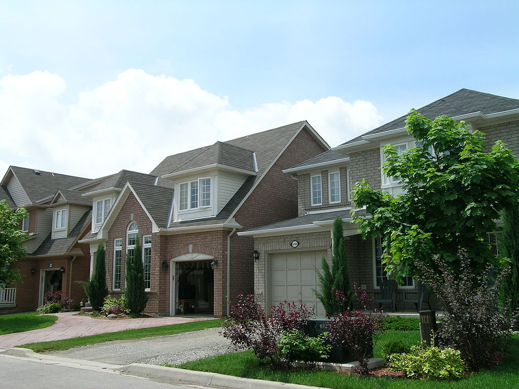 A household would need to earn $147,000 a year to buy an average home in Burlington west of Toronto. (Photo by Elvira Cordileone/Toronto Star via Getty Images)