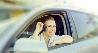 drivinng car