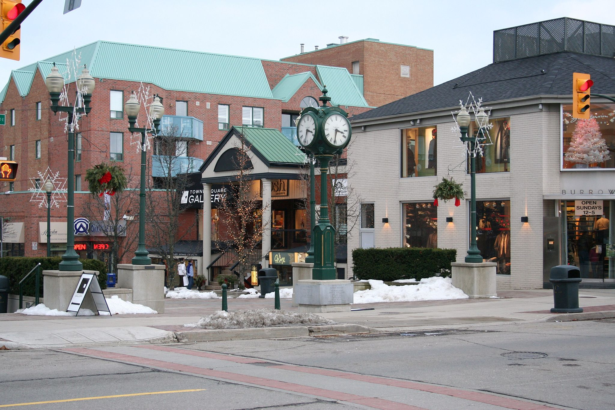 Downtown Restaurants Burlington Ontario Canada