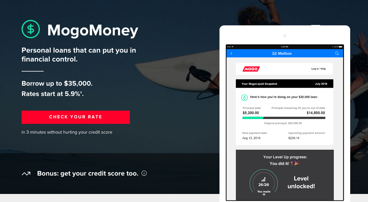 Mogo Payday Loans