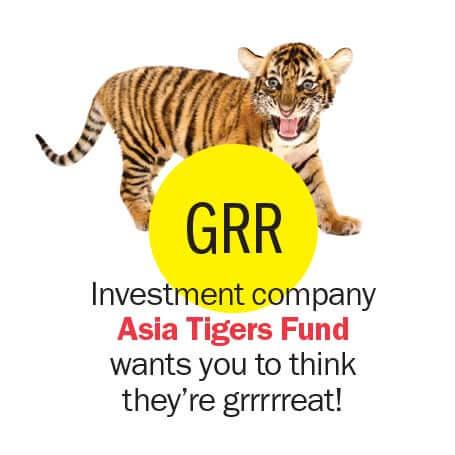 GRR - Asia Tigers Fund stock symbols