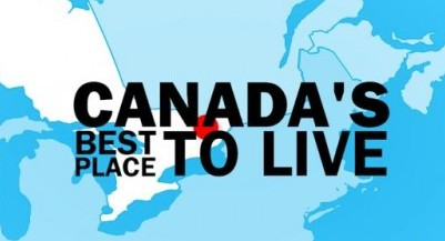 best place to live in Canada
