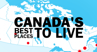 The best places to live in canada for The best city to live in california