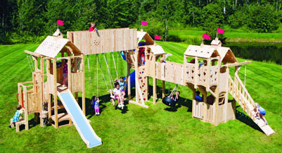 outdoor playsets for any budget
