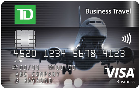 Canadas best business credit cards of 2016 td business travel visa business credit cards reheart Gallery