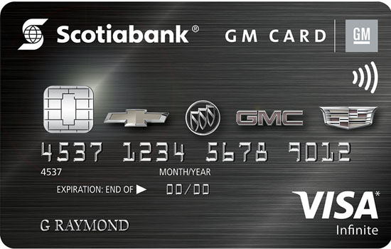 infinite GM best retail rewards credit cards