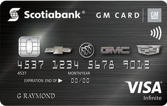 infinite GM best retail rewards credit cards