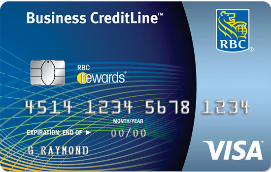 Canadas best business credit cards of 2016 rbc visa creditline for small business business credit cards reheart Gallery