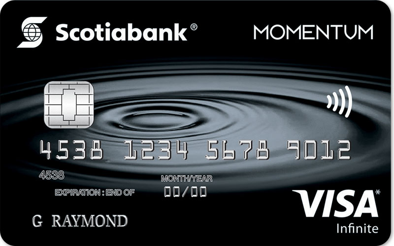 Scotia Momentum Visa Card Rental Car Insurance