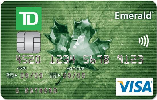 TD Emerald Visa - low-rate credit cards