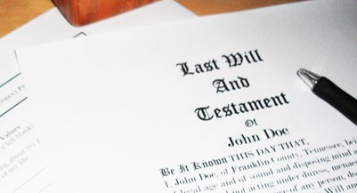 last will and testament_401